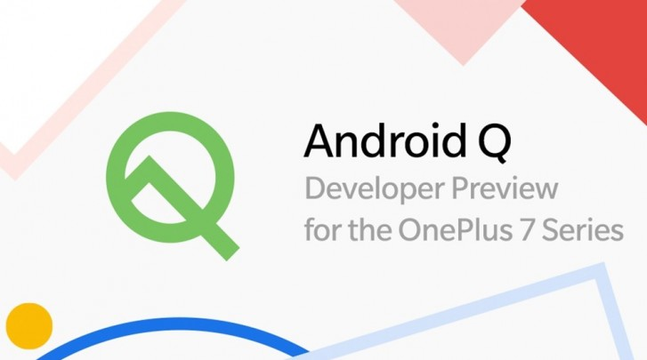 OnePlus released the Android Q Developer Preview 2 for the OnePlus 7 Series