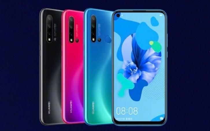 Huawei launched Nova 5 Pro, Nova 5 and Nova 5i in China