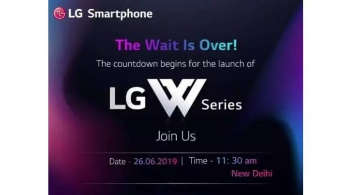 LG W10 launching on June 26 in India