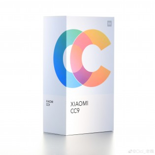 Xiaomi Mi CC9 retail box