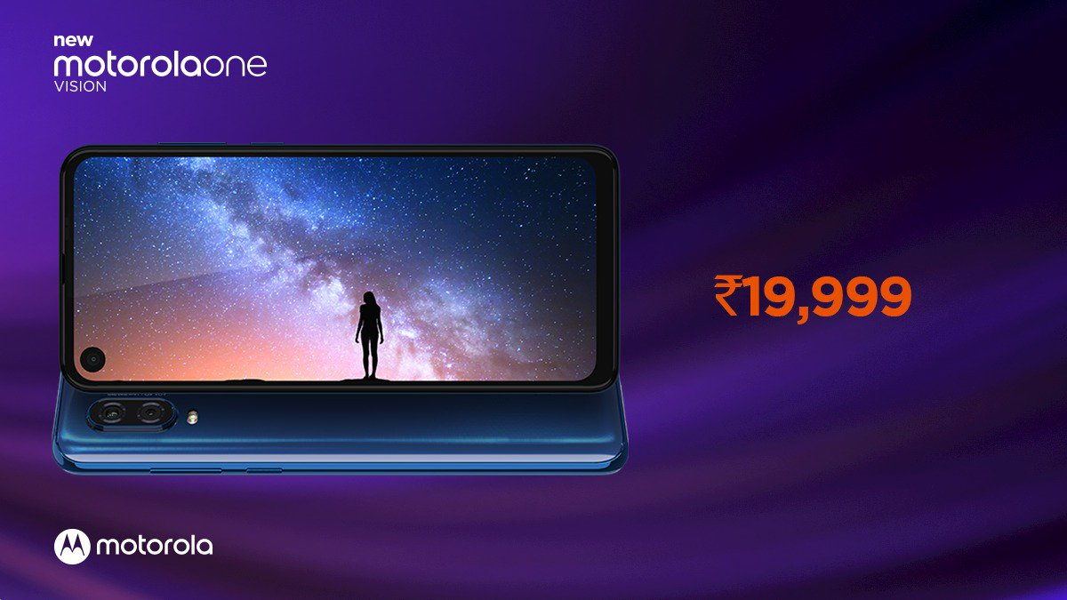 Motorola One Vision is launched in India