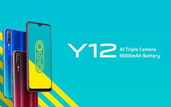 Vivo has launched the Vivo Y12 with a triple camera setup as well as a massive 5,000 mAh battery