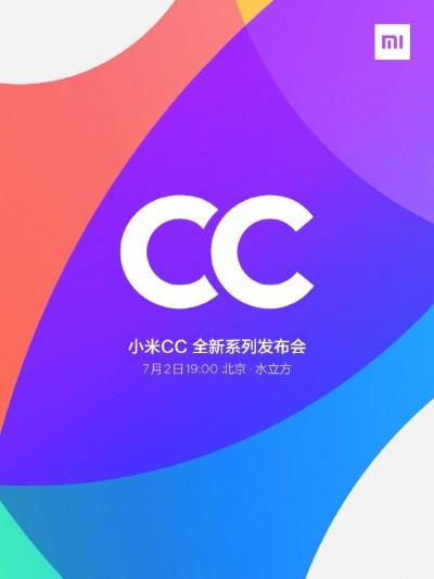 Mi CC9 launch on July 2