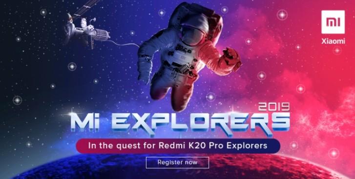 Xiaomi wants 48 Mi Explorers for Redmi K20 Pro