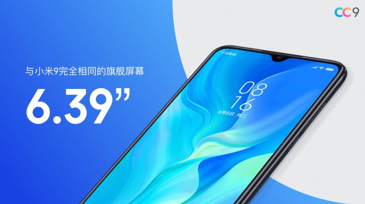 Xiaomi Mi CC9, CC9e and CC9 Meitu Edition launched