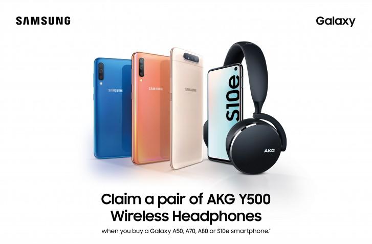 Samsung Offer - AKG Y500 headphones
