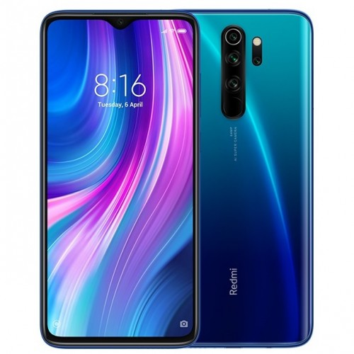 redmi note 8 pro electric blue india