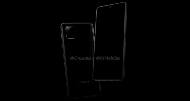 Samsung Galaxy Note 10 Lite camera