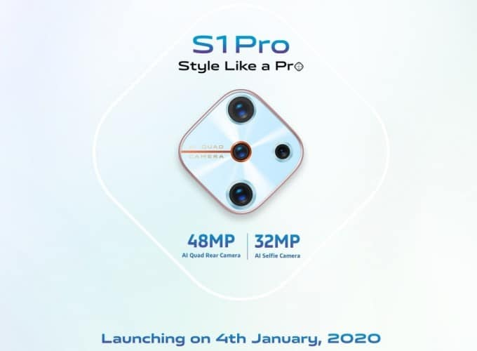 vivo s1 pro launching January 4